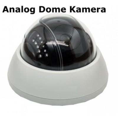 AC-104 Mikrofonlu Gece Görüşlü Analog Dome Kamera
