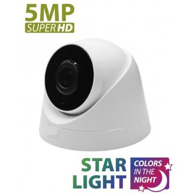 IC-936 5MP 4K  ULTRAHD STARLIGHT  IP Dome Kamera