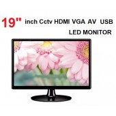19'' İNC VIP CCTV ARAÇ HD LED MONİTÖR HDMI / VGA/AV
