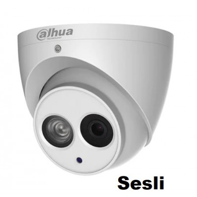 Dahua HAC-HDW1200EM-A-0280B 2MP Dahili Sesli HDCVI Kamera