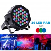 36 LED PAR SESE DUYARLI DMX KONTROL DİGİTAL MODE