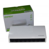 Everest ESW08B 8 Port 10/100 Mbps Switch hub