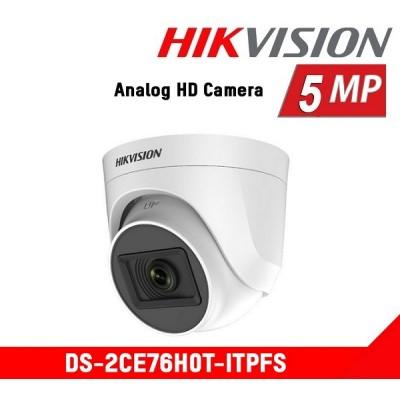Hikvision DS-2CE76H0T-ITPF 5Mp EXİR Dome Kamera