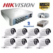 8 Kameralı Haikon 2MP FULLHD 1080P Kamera Set