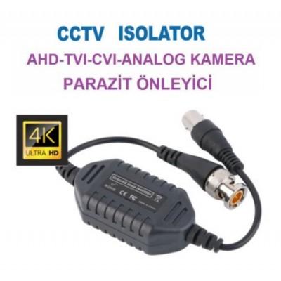 Kamera Parazit Önleyici ( İzalatör ) AHD-TVI-CVI-ANALOG