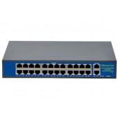 S-24P 24 Port Poe Switch + 2 Port Uplink Gigabit