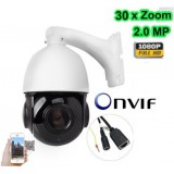 2Mp 30X Zoom Onvif IP IR Speed Dome Kamera