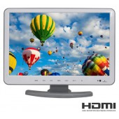 "15"" inç LED TV HDMİ 1080P ÇIKIŞ, USB MEDYA DVD-TV MONİTÖR"