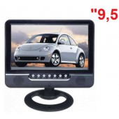 9.5'' SD+USB+AV-İN+AV-OUT LCD Monitör