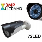 72 Led 3MP ULTRAHD AHD 1080p GÜVENLİK KAMERASI