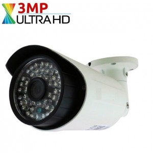 3 MP 48 Led AHD 1080P Güvenlik Kamerası 3,6mm