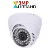 3 MP 1080P AHD DOME KAMERA, 3,6mm
