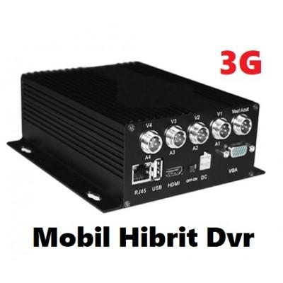 4 Kanal Ahd Mobil Kayıt Cihazı