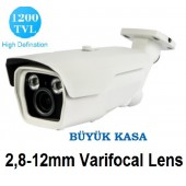 1200 TVL 2 ARRAY LED VARİFOCAL ANALOG KAMERA