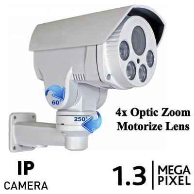 1.3 MP Ip Bullet PTZ Kamera 960p