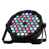 54 LED PAR WATT DMX512 RGB LIGHT SESE DUYARLI