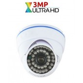 3 MP AHD 36 LED FULL HD DOME KAMERA