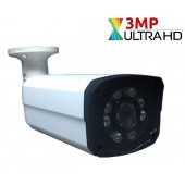 3 MP 8 POWER LED GECE GÖRÜŞLÜ AHD KAMERA
