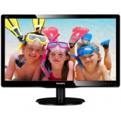 Philips 19.5 LED MM Monitor (VGA ) 5ms Siyah
