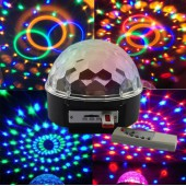 Sihirli Led Küre SD Kart USB Girişli Top Magic Ball