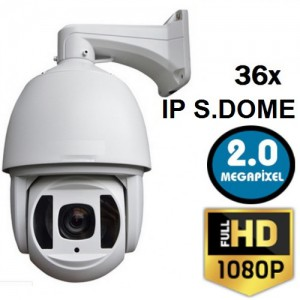 2 Mp 1080p 36X Zoom Onvif IP Speed Dome Kamera