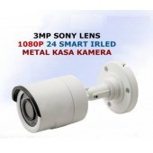 3 MP Sony Lens 1080P 24 IR Led Ahd Kamera