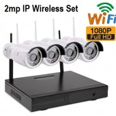 4 LÜ 2MP FULLHD 1080P İP WİFİ KABLOSUZ SET