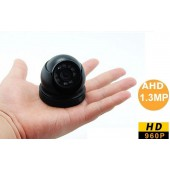 1.3 MPİXEL AHD 960P MİNİ OTO - ARAÇ HD DOME KAMERA METAL