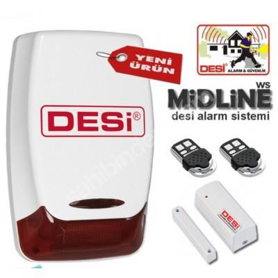 Desi Midline Alarm Sistemi Ev İşyeri Alarm Sistemi