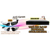 Haikon DS-2CD2135FWD-IS 3.0Mp İp Dome Kamera