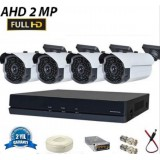 2 Mp 63 LED FullHD AHD Kamera Sistemi